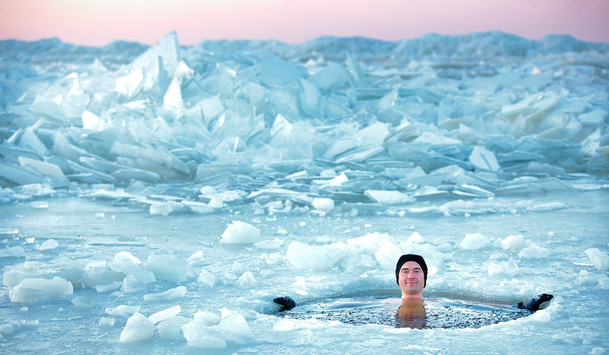 Winter(bade)zeit: Eisbaden und gesunde Alternativen