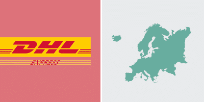DHL Express-Versand in Europa Zone3