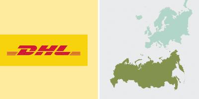 DHL Versand in der Nahen Welt